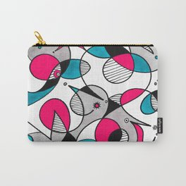 Abstract Birds Carry-All Pouch
