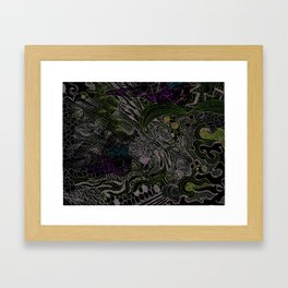 It's a Jungle Out There Framed Art Print