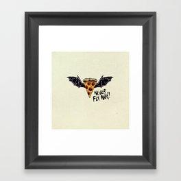 Never Fly Away Framed Art Print