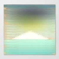 northern lights Canvas Prints featuring Northern Lights by Tammy Kushnir