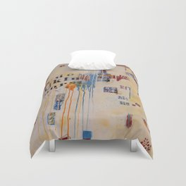 """""""Falling into Place"""" Duvet Cover"""