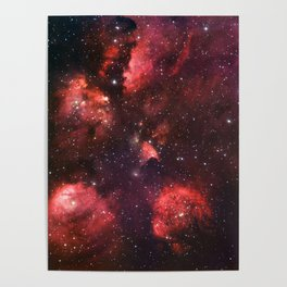 The Cat's Paw Nebula Poster