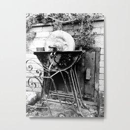 Vintage WhetStone Metal Print