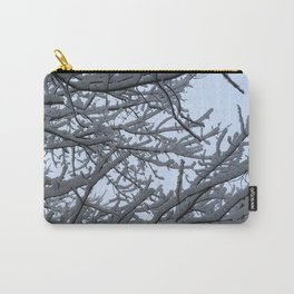 Tree at snow. Carry-All Pouch