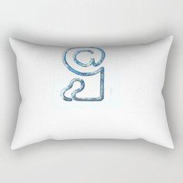 Mailman Rectangular Pillow