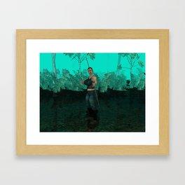 Survivor is comming out Framed Art Print