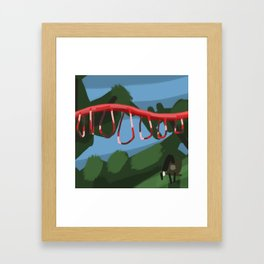 Verona Park Framed Art Print