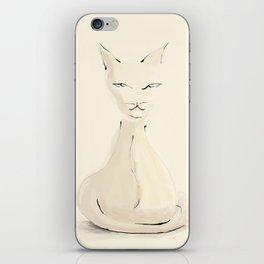 Kitty, sketch iPhone Skin