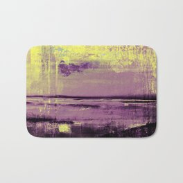 Yellow Color Patches Bath Mat