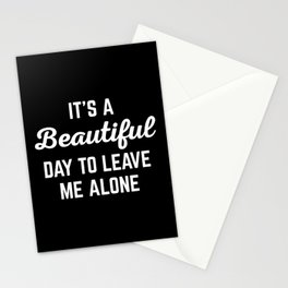 It's A Beautiful Day Funny Quote Stationery Cards