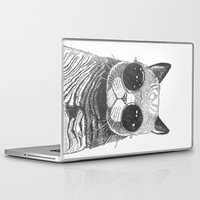 ariana grande Laptop & iPad Skins featuring cool cat by Polkip