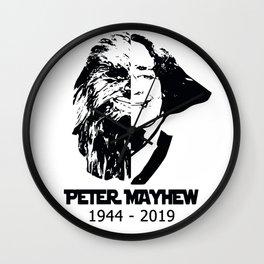peter mayhew Wall Clock
