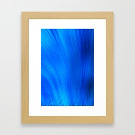 Blue Depth Framed Art Print