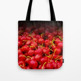 cherries pattern hvhdstd Tote Bag