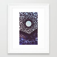 aperture Framed Art Prints featuring Aperture by Florian Wille Design