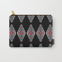 Southwestern Diamond Pattern Carry-All Pouch