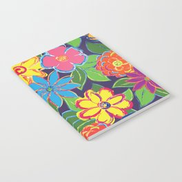 Painted Blooms Notebook