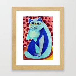 Garagato Framed Art Print