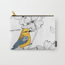 Blue-winged Warbler Carry-All Pouch