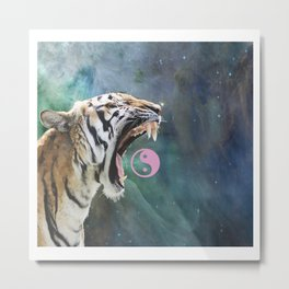 SPACE TIGAH Metal Print