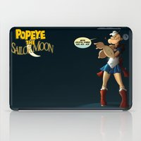 popeye iPad Cases featuring Popeye the Sailor Moon by bluthan