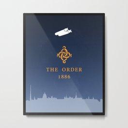 Order 1886: poster Metal Print