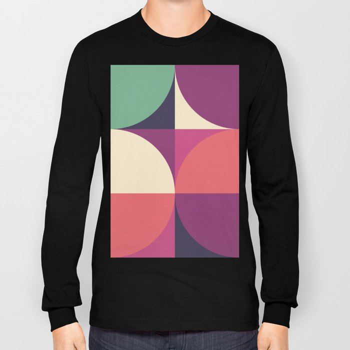 Quarters Quilt 3 Long Sleeve T-shirt