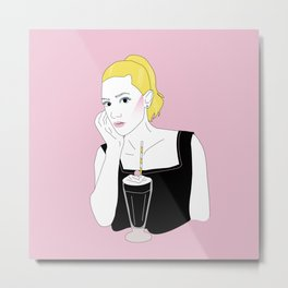 Betty Cooper Metal Print