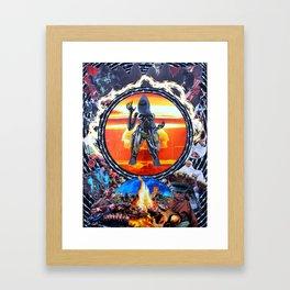 Commandant Framed Art Print