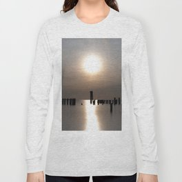 Rose Gold Sunset At Cape Charles Long Sleeve T-shirt