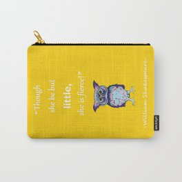 Inspirational Shakespeare Quote Carry-All Pouch