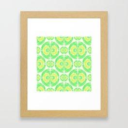 Fruity pattern Framed Art Print