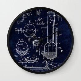 Ice Cream Scoop Blueprint Wall Clock