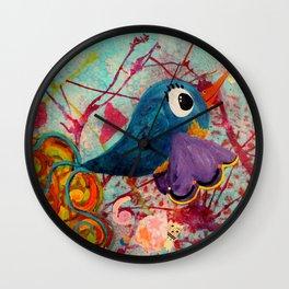 Fancy - Quirky Bird Series Wall Clock