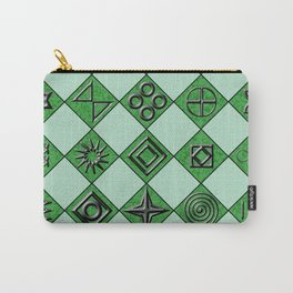 Mysterious Squares Carry-All Pouch