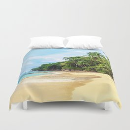 Tropical Beach - Landscape Nature Photography Duvet Cover