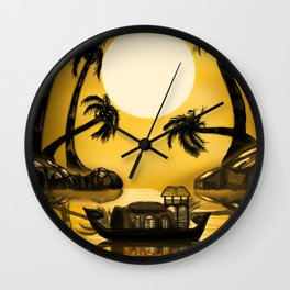 Kerala Evening Wall Clock