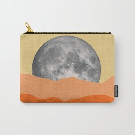 Minimalist landscape with moon Carry-All Pouch