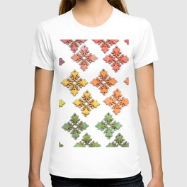 Wood Rainbow Florets T-shirt