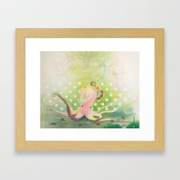Goodbyes Suck Framed Art Print