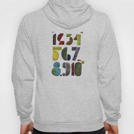 1 2 3 4 5 6 7 8 9 10 decimal numbers - by Genu WORDISIAC™ TYPOGY™ Hoody