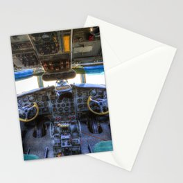 Ilyushin IL-18 Cockpit View Stationery Cards