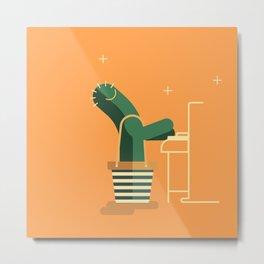 CACTUS BAND / The Piano Metal Print