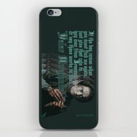 arya iPhone & iPod Skins featuring Arya Stark, Valar Morghulis by Your Friend Elle