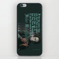 valar morghulis iPhone & iPod Skins featuring Arya Stark, Valar Morghulis by Your Friend Elle