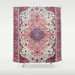 Bakhtiari West Central Persian Rug Print Shower Curtain