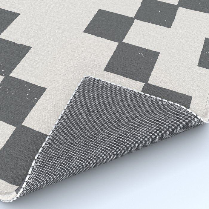 Tiles - in Charcoal Rug