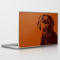 the dude Laptop & iPad Skins featuring Dude by Brooke Copani
