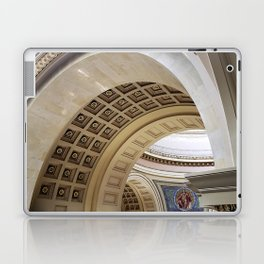 Wisconsin Capitol Building Arches And Angles Laptop & iPad Skin