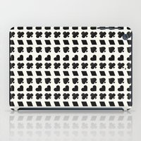suits iPad Cases featuring Card Suits Black by •ntpl•